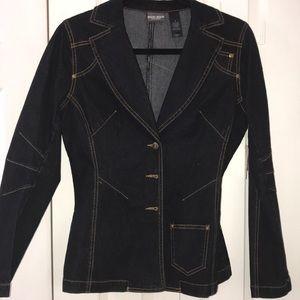 Bisou Bisou Denim Jean Jacket Sz 6 New tagged $58